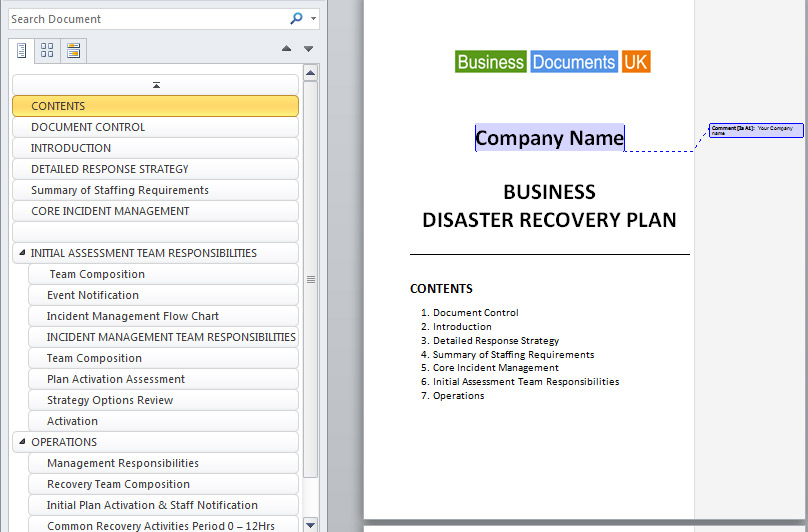 Purevolume we 39 re listening to you for Hospital disaster recovery plan template
