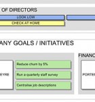 Company Roadmap Template - business goals detail