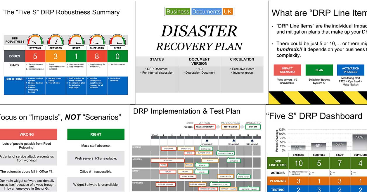 Powerpoint Disaster Recovery Plan Template – Disaster Recovery Plan Template