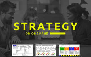 Strategy On One Page - Template